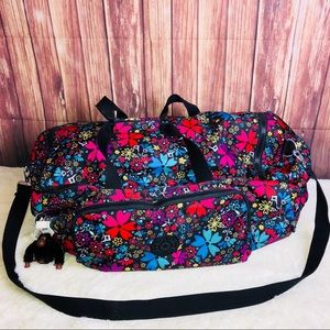 New Kipling Yacht L Large Duffle Bag in Mod Floral